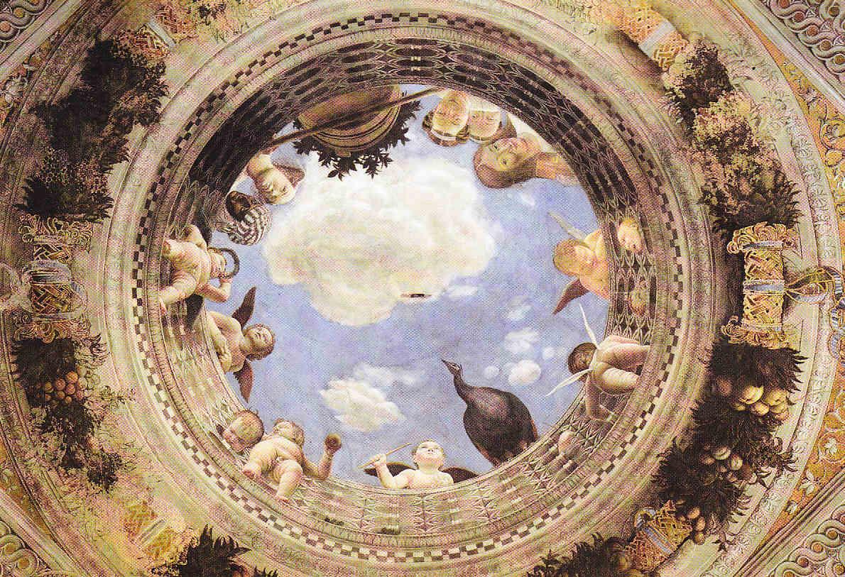 Andrea mantegna volta della camera degli sposi oculo for Camera sposi mantegna