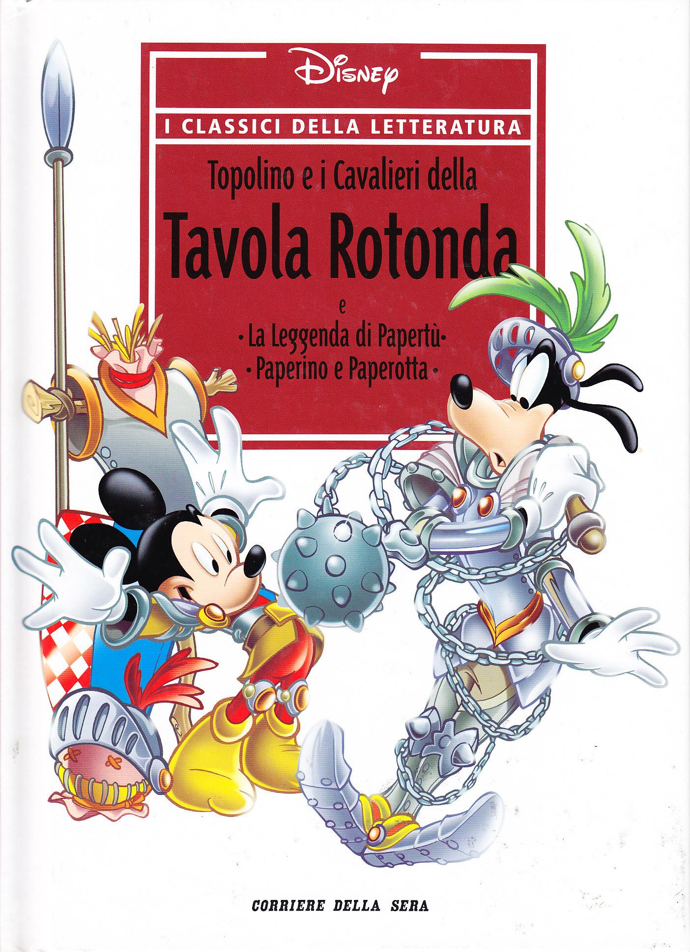 Topolino e i cavalieri della tavola rotonda e la leggenda - Numero cavalieri tavola rotonda ...